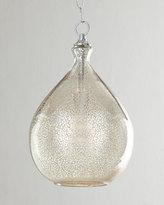 Horchow Mercury-Glass 1-Light Pendant