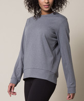 MPG Women's Sweatshirts and Hoodies U1MPK_Htr - Heather Concrete Bustle Sweatshirt - Women
