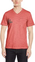 Kenneth Cole Reaction Men's Short Sleeve V-neck with Logo
