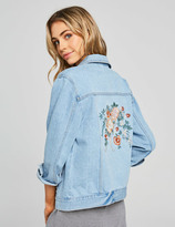 Dotti Embroidered Denim Jacket