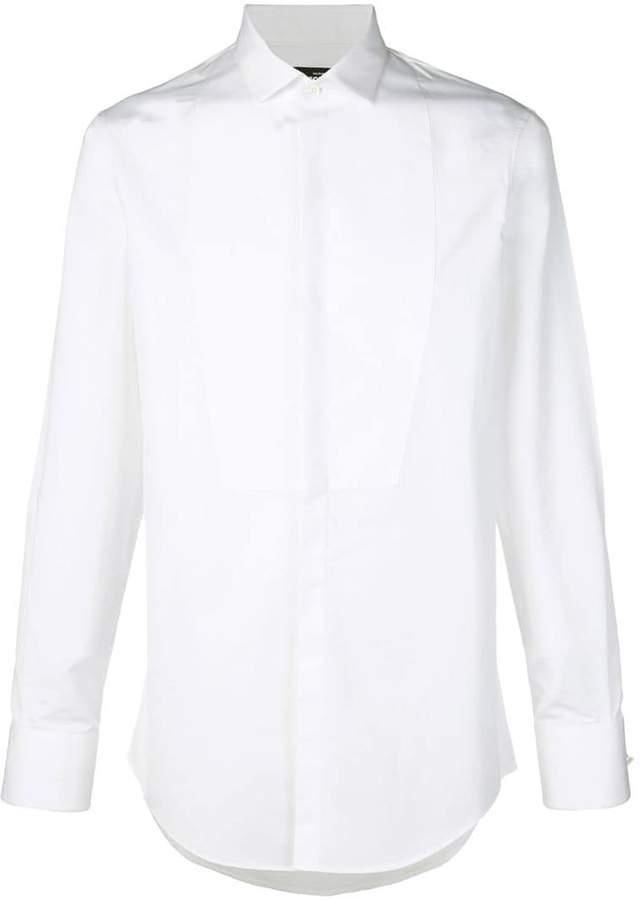 DSQUARED2 classic tuxedo shirt