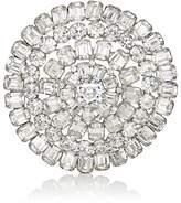 Stazia Loren Women's Diamanté Circular Brooch