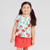 Genuine Kids from OshKosh Toddler Girls' Open Sleeve Top - Genuine Kids® from OshKosh® Gallery White