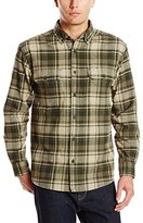 Wolverine Men's Redwood Heavy Weight Two Sided Brushed Flannel Shirt