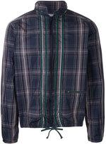 Kolor tartan shirt jacket