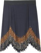 Beaded Flapper Mini Skirt