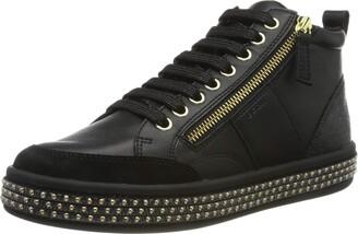 Geox Women's D LEELU' G Mid-Top Sneakers