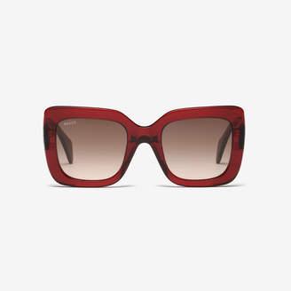 Bally Rodeo Square Frame Sunglasses