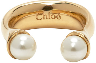Chloé Gold Darcey Round Ring