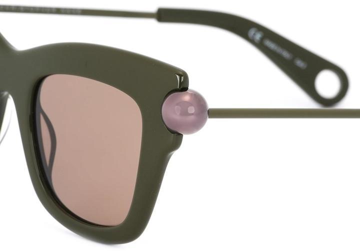 Christopher Kane 'Bumper' sunglasses