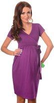 Purpless Maternity Cocktail V-Neck Pregnancy Dress 5416