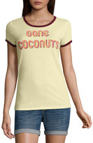 Arizona Gone Coconuts Graphic T-Shirt- Juniors