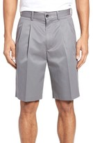 Nordstrom Men's Pleated Supima Cotton Shorts