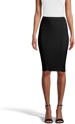 Nicole Miller Knit Pencil Skirt