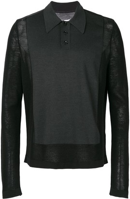 Maison Margiela long-sleeve polo top