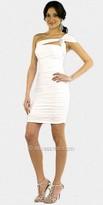 Atria Ruched One Shoulder Dresses