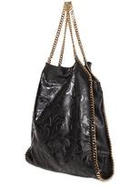 Stella McCartney Large Falabella Embossed Faux Nappa Bag