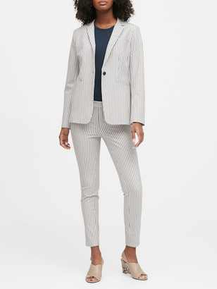 Banana Republic Long and Lean-Fit Washable Bi-Stretch Blazer
