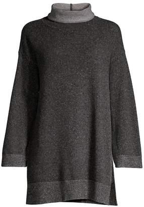 Eileen Fisher Cashmere Wool Tunic