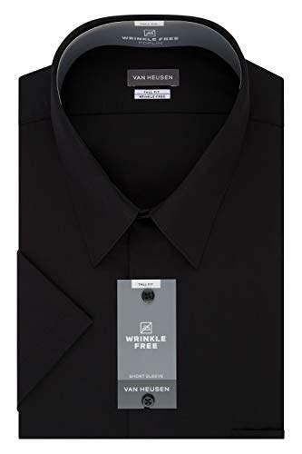 c12dc2728bbe01 Van Heusen Black Men's Shortsleeve Shirts - ShopStyle