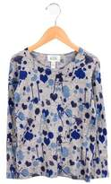 Autumn Cashmere Girls' Wool Printed Sweater