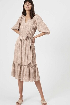 Witchery Pleat Trim Day Dress