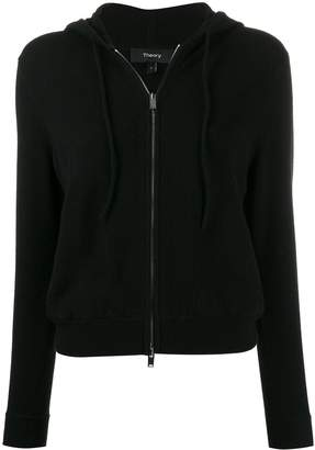 Theory cashmere zipped cardigan