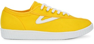 Tretorn Nylite Yellow Canvas Sneakers