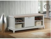 Baxton Studio Ramos Contemporary White Solid Wood Shoe Storage Bench With Beige Cotton Fabric Upholstered Seat Cushions With Foam Padding