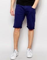 Wrangler Colton Shorts In Marine Blue