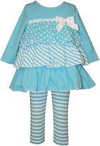 Bonnie Jean Ruffle Top and Leggings - Baby Girls newborn-24m