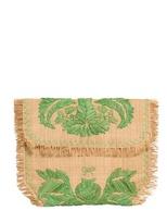 Anya Hindmarch Capability Straw Weave And Raffia Clutch