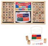 Melissa & Doug Alphabet Stamp Set