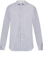 Paul Smith Soho double-cuff cotton-poplin shirt