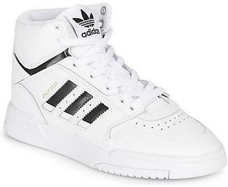 adidas DROP STEP J boys's Shoes (High-top Trainers) in White
