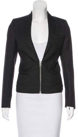 Christian Dior Wool Zip Blazer