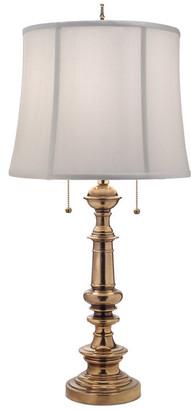 Stiffel   Lite Tops Stiffel Table Lamp, Burnished Brass