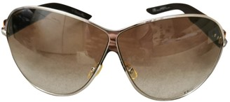 Christian Dior Orange Metal Sunglasses