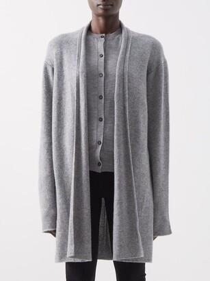 The Row Fulham Cashmere Cardigan - Grey
