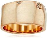Kendra Scott Marnie Rose Gold Metal White Cubic Zirconia Ring, Size 8