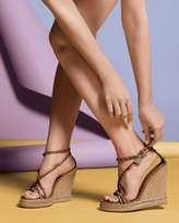 Burberry Smoked Check Hearts Espadrille