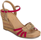 Aerosoles Plush Around Wedge Sandals