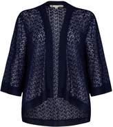 Yumi Lace and Fringe Kimono