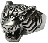 Femme Metale Jewelry Tiger Beat Ring