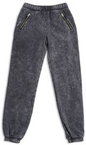Butter Shoes Girls' Mineral Washed Fleece Jogger Pants - Sizes S-XL