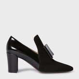Paul Smith Women's Black Suede And Leather 'Belvoir' Shoes