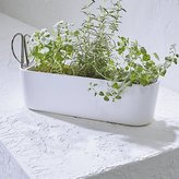 Crate & Barrel Herb Planter with Scissors