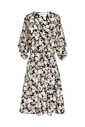 Gerard Darel Sabrina - Short Printed Silk Dress