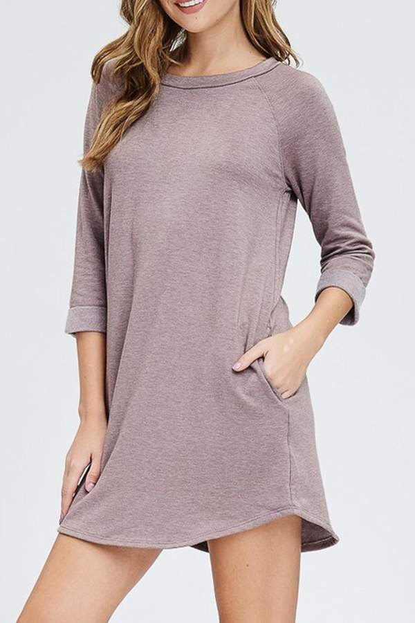 Cherish Christy 3/4-Sleeve Tunic