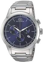 88 Rue du Rhone Men's 'Rive' Swiss Quartz Stainless Steel Dress Watch, Color:Silver-Toned (Model: 87WA154305)
